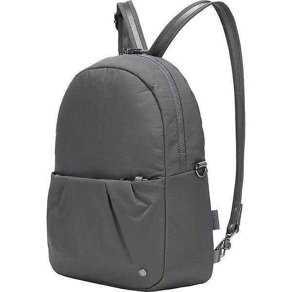 パックセーフ レディース バックパック・リュックサック バッグ Pacsafe Women's Citysafe CX Convertible Backpack Econyl Storm