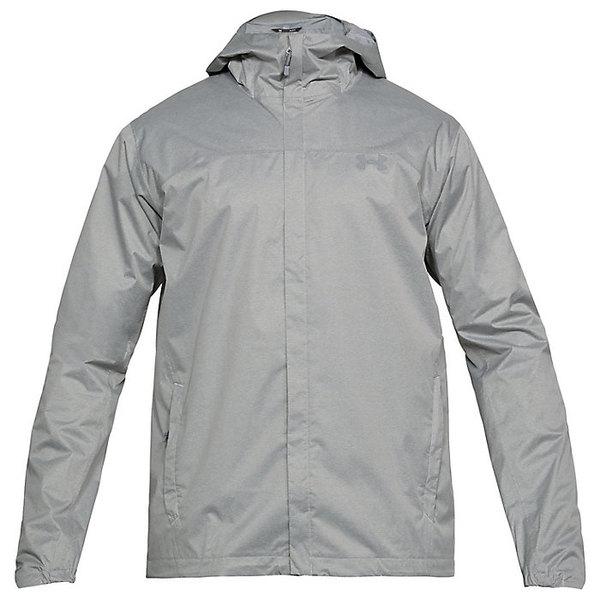 アンダーアーマー レディース ジャケット&ブルゾン アウター Under Armour Men's UA Overlook Jacket True Gray Heather / Overcast Gray / Overcast Gray