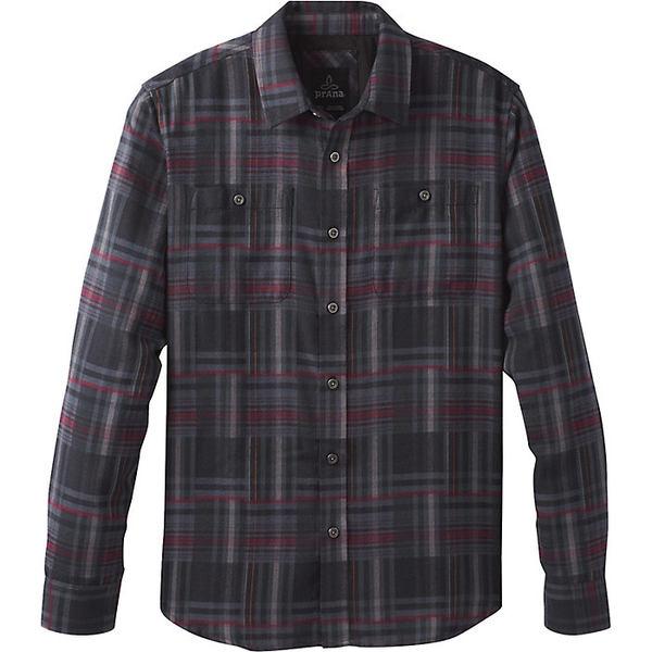 プラーナ メンズ シャツ トップス Prana Men's Stratford LS Shirt Black