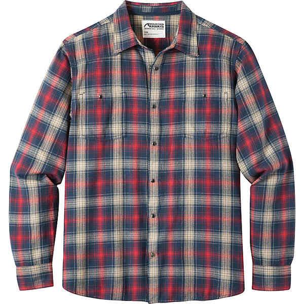 マウンテンカーキス メンズ シャツ トップス Mountain Khakis Men's Saloon Flannel Shirt Twilight Plaid