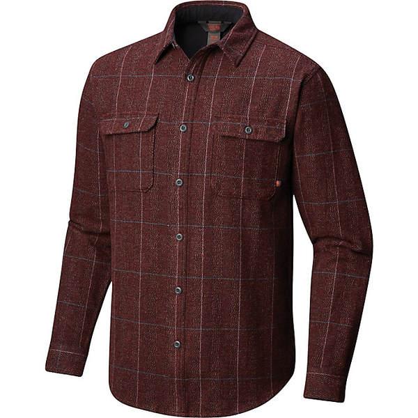 マウンテンハードウェア メンズ シャツ トップス Mountain Hardwear Men's Walcott LS Shirt Woodsmoke