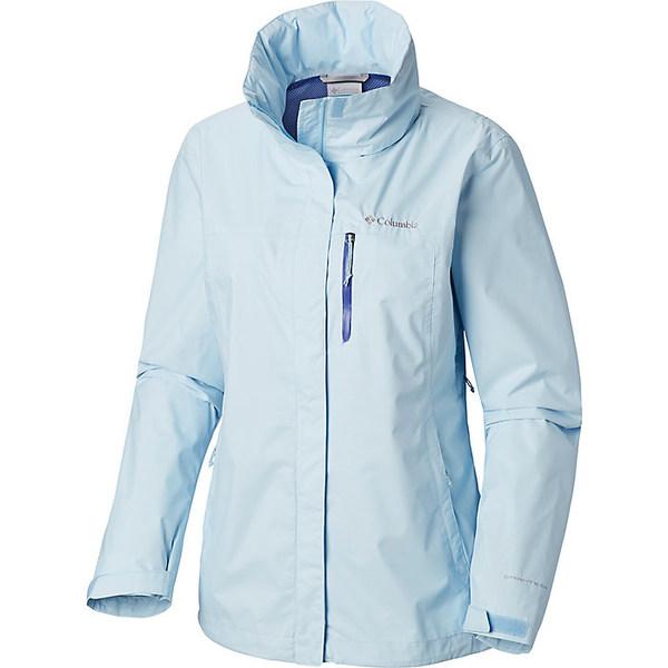 コロンビア レディース ジャケット&ブルゾン アウター Columbia Women's Pouration Jacket Pale Blue
