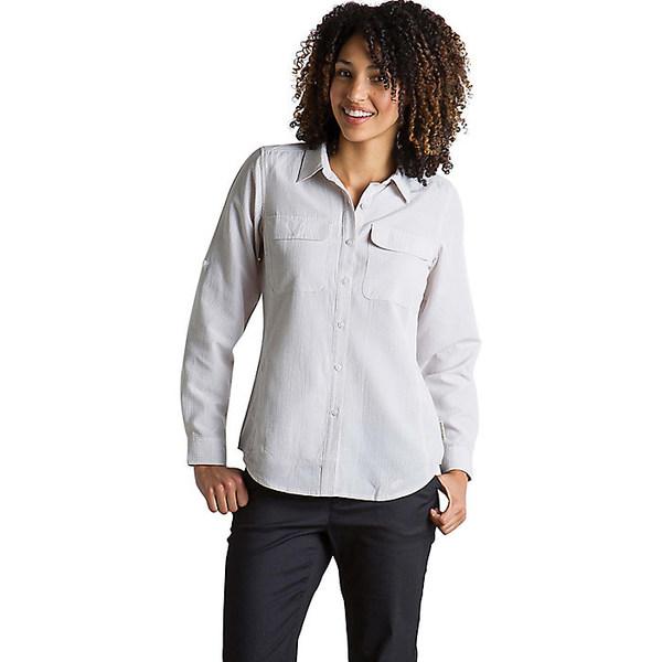 エクスオフィシオ レディース シャツ トップス ExOfficio Women's Rotova LS Shirt Malt Check