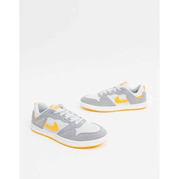 ナイキ メンズ スニーカー シューズ Nike SB Alleyoop sneakers in gray Gray