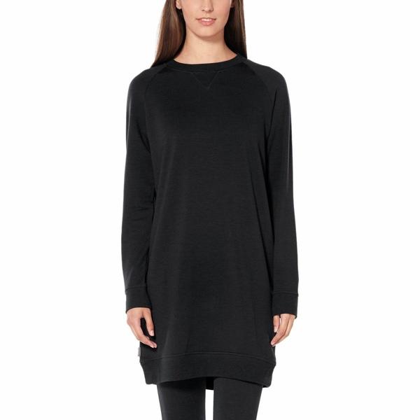 アイスブレーカー ワンピース レディース ワンピース Black Dress トップス Lydmar Dress Black, ホウジョウチョウ:4c483d5b --- officewill.xsrv.jp