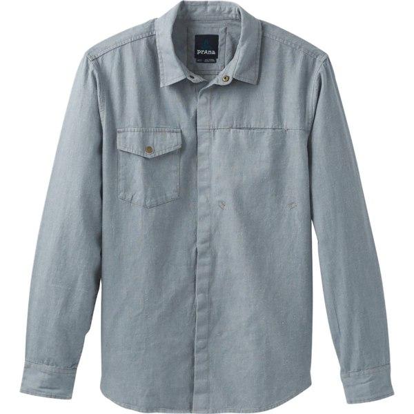 プラーナ メンズ シャツ Vintage トップス Lenny トップス Overshirt Overshirt Vintage Blue, 水戸元祖 天狗納豆:d9faf5c0 --- officewill.xsrv.jp