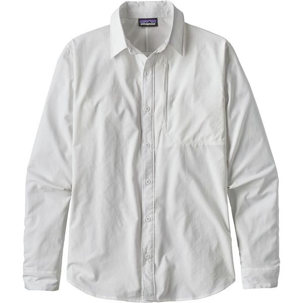 パタゴニア メンズ シャツ シャツ トップス Shirt Skiddore Long-Sleeve パタゴニア Shirt White, どっぐしょっぷ-ndc:7b97b7dc --- officewill.xsrv.jp