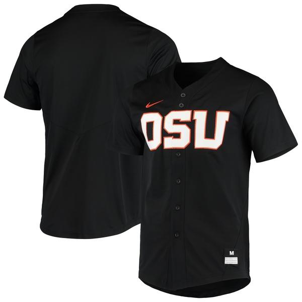 ナイキ メンズ ユニフォーム トップス Oregon State Beavers Nike Vapor Untouchable Elite Replica FullButton Baseball Jersey Orange