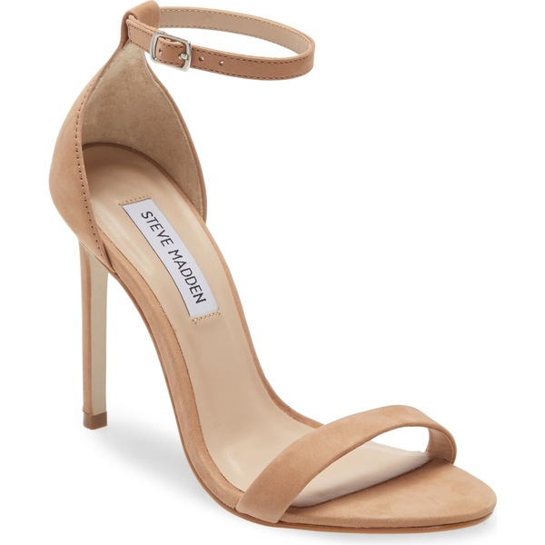 スティーブ マデン レディース サンダル シューズ Steve Madden Brandie Ankle Strap Sandal (Women) Camel Nubuck