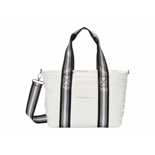 シンクロリン レディース ハンドバッグ バッグ Junior Wingman Bag White Patent