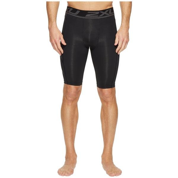 2XU メンズ ハーフ&ショーツ ボトムス Accelerate Compression Shorts Black/Nero