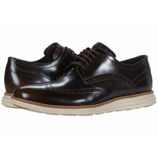 コールハーン メンズ ドレスシューズ シューズ Original Grand Wingtip Oxford Bracken Brush-Off Leather/Safari