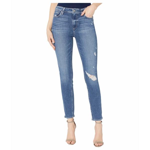 ペイジ レディース デニムパンツ ボトムス Hoxton Ankle Skinny Jeans in Roadie Destructed Roadie Destructed