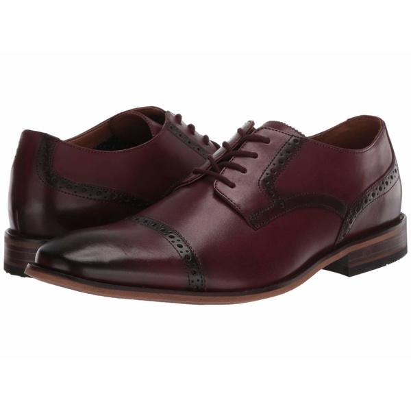 ボストニアン メンズ ドレスシューズ シューズ Lamont Cap Burgundy Leather