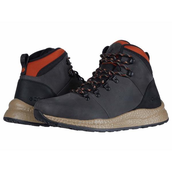 コロンビア メンズ ブーツ&レインブーツ シューズ Sh/Ft Waterproof Hiker Dark Grey/Dark Adobe