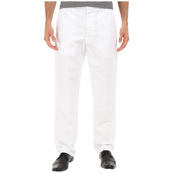 ペリーエリス メンズ カジュアルパンツ ボトムス Linen Suit Pants Bright White