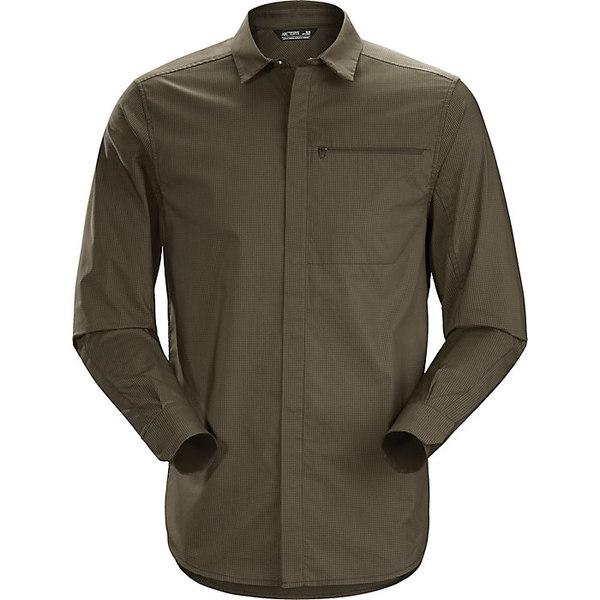 アークテリクス メンズ シャツ トップス Arcteryx Men's Kaslo LS Shirt Dracaena