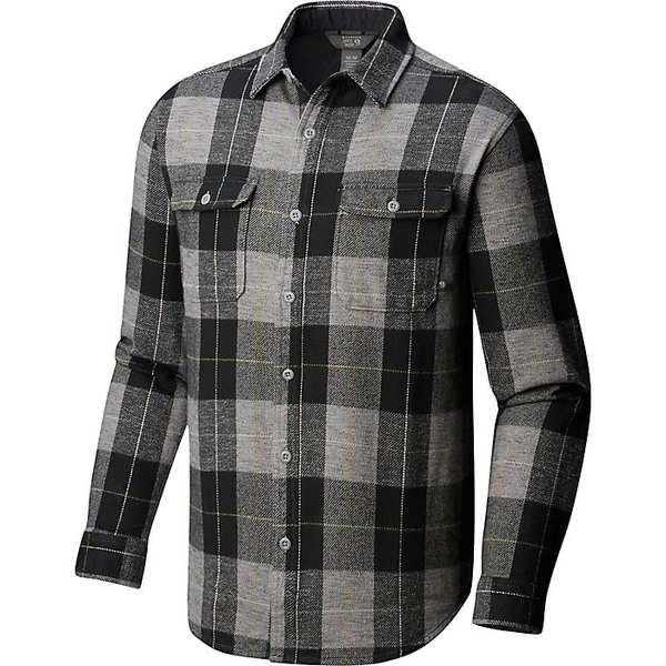 マウンテンハードウェア メンズ シャツ トップス Mountain Hardwear Men's Walcott LS Shirt Manta Grey