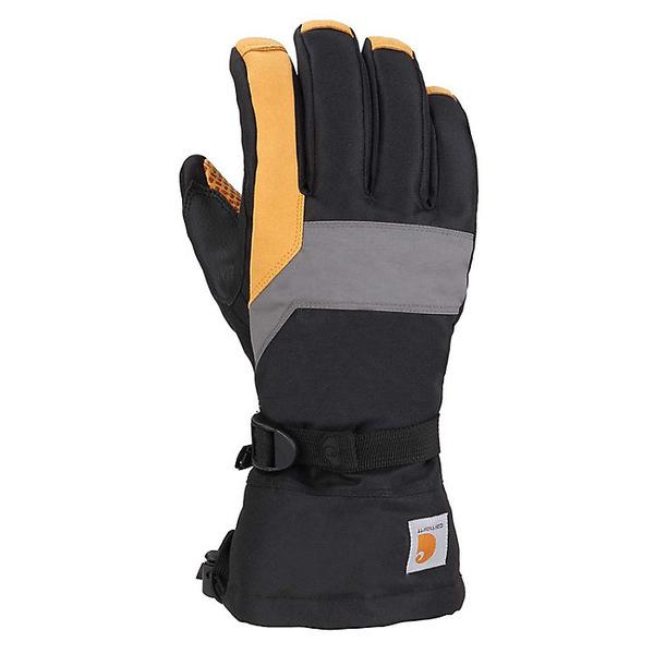 カーハート メンズ 手袋 アクセサリー Carhartt Men's Pipeline Glove Black Dark Grey Barley