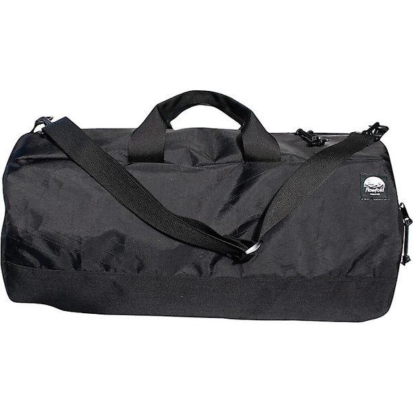 フローフォールド レディース ボストンバッグ バッグ Flowfold Conductor Limited Duffle Bag Jet Black