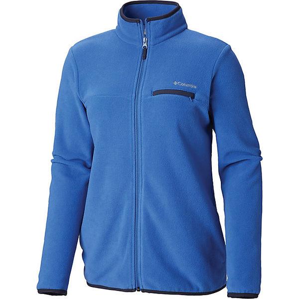 コロンビア レディース ジャケット&ブルゾン アウター Columbia Women's Mountain Crest Full Zip Arctic Blue / Nocturnal