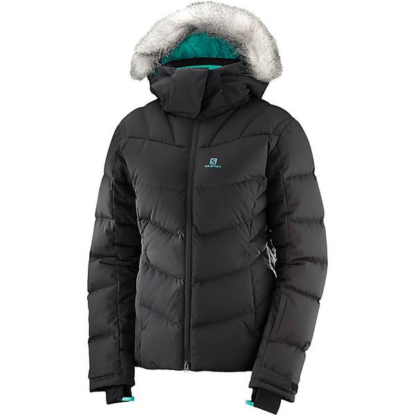 サロモン レディース ジャケット&ブルゾン アウター Salomon Women's Icetown Jacket Black