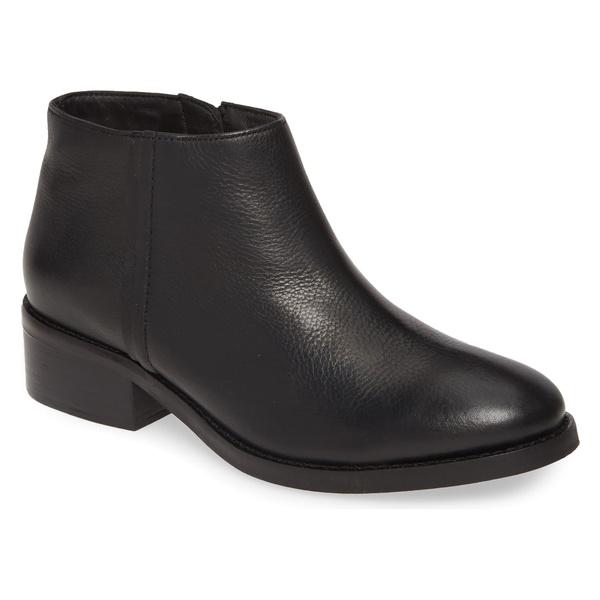 【期間限定特価】 セイシェルズ レディース ブーツ&レインブーツ シューズ Seychelles Resemblance Bootie (Women) Black Leather, でに丸 8340d1e5