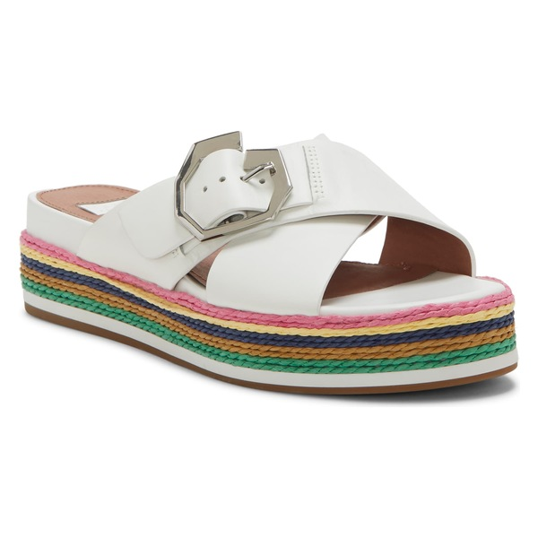 ルイスエシー レディース サンダル シューズ Louise et Cie Cassia Platform Sandal (Women) Optic White Leather