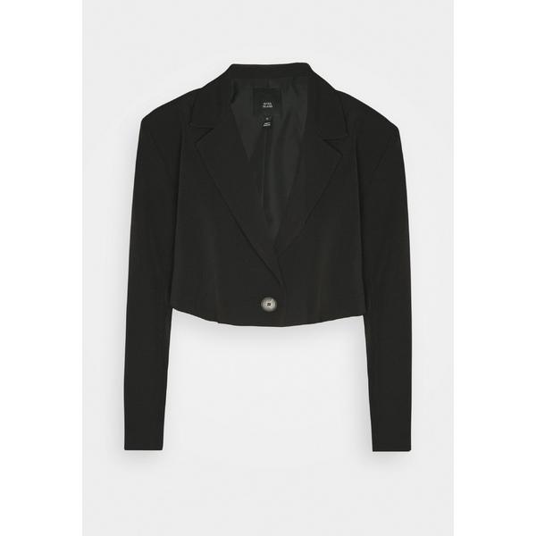 リバーアイランド レディース アウター ジャケット ブルゾン black 国際ブランド 全商品無料サイズ交換 - 新発売 Blazer vcln0285