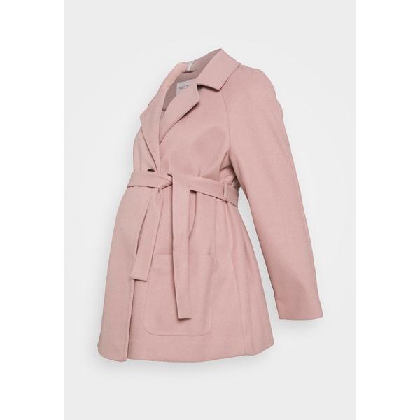 ドロシー パーキンス レディース アウター コート pink 全商品無料サイズ交換 SHORT Winter - BELTED COAT WRAP vcln0289 coat 注目ブランド ご予約品