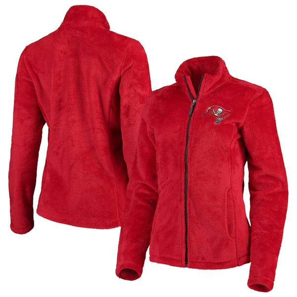 カールバンクス レディース ジャケット&ブルゾン アウター Tampa Bay Buccaneers G-III 4Her by Carl Banks Women's Goal Line Full-Zip Jacket Red