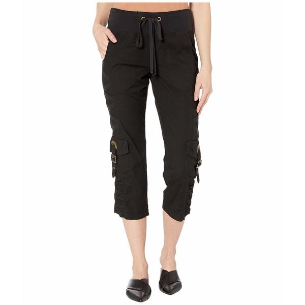 エックスシーブイアイ レディース カジュアルパンツ ボトムス Wearables Variete Crop Pants in Stretch Poplin Black