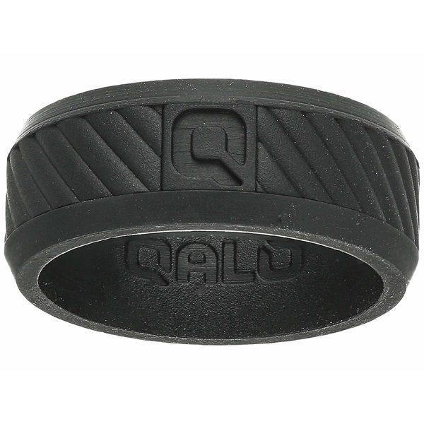 キューエーエルオー メンズ アクセサリー リング Black 全商品無料サイズ交換 キューエーエルオー メンズ リング アクセサリー Traverse Silicone Ring Black