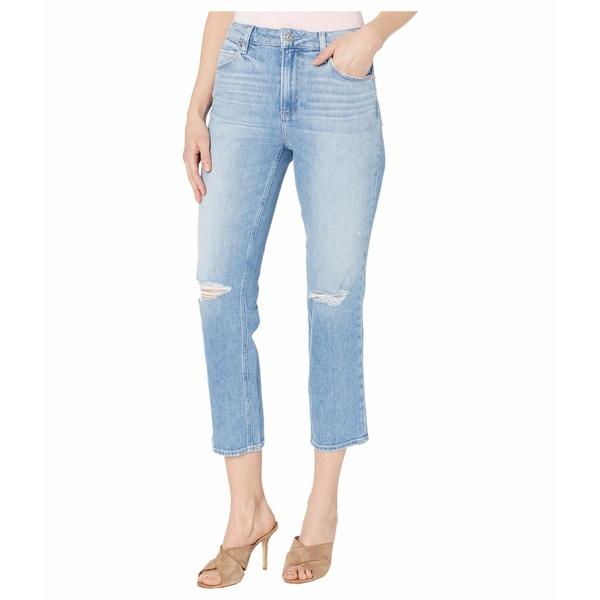 ペイジ レディース デニムパンツ ボトムス Sarah Straight Ankle Jeans in Solera Destructed Solera Destructed