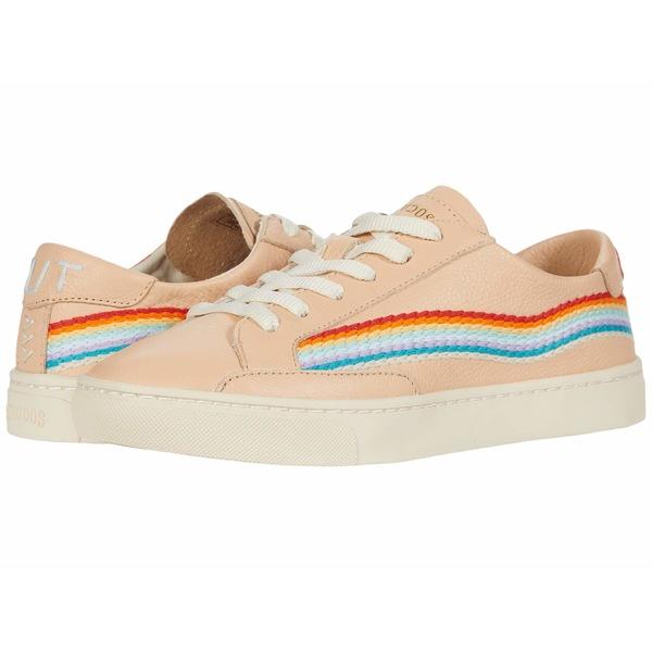 ソルドス レディース スニーカー シューズ Rainbow Wave Sneaker Soft Pink