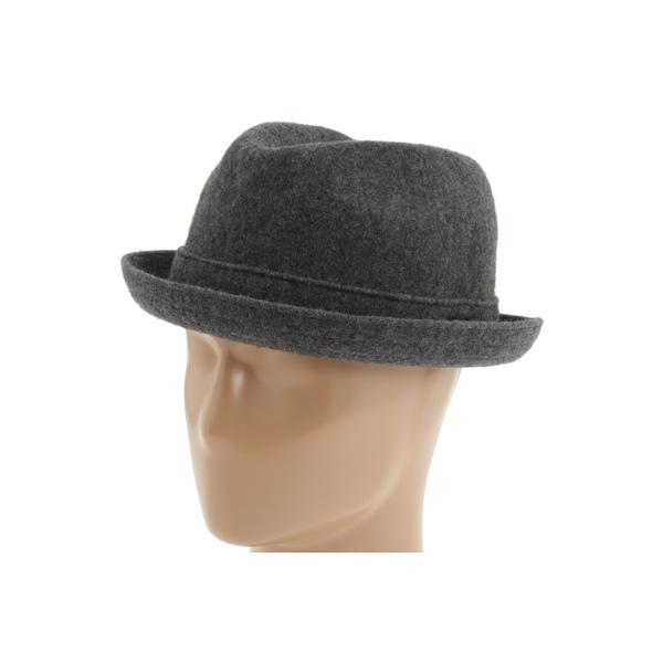 カンゴール メンズ 帽子 アクセサリー Wool Player Dark Flannel