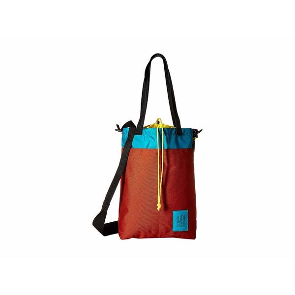 トポ・デザイン メンズ ビジネス系 バッグ Cinch Tote Clay/Turquoise