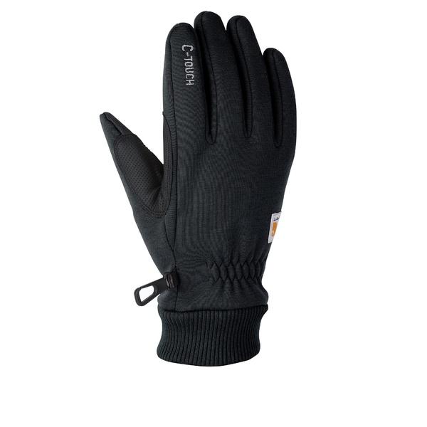 カーハート メンズ アクセサリー 手袋 C-touch Black 休み お気に入 全商品無料サイズ交換