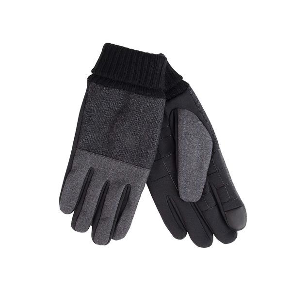本店 ドッカーズ 即納最大半額 メンズ アクセサリー 手袋 Charcoal Plaid 全商品無料サイズ交換 Fabric Men's Gloves Dockers