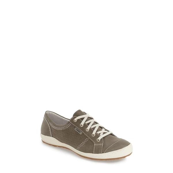 ジョセフセイベル レディース スニーカー シューズ 'Caspian' Sneaker Grigio Leather