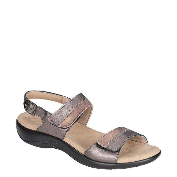 エスエーエス レディース サンダル シューズ Nudu Two-Toned Leather Sandals Dusk