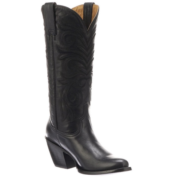 ルチーズ レディース ブーツ&レインブーツ シューズ Laurelie Leather Tall Boots Black