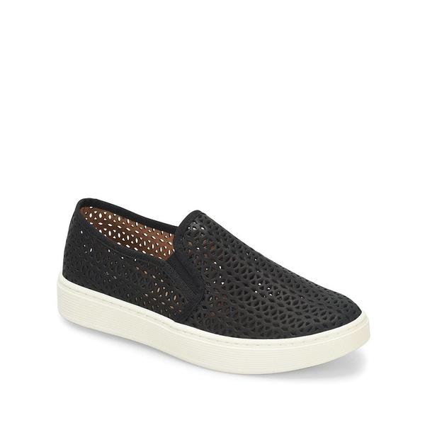 ソフト レディース スニーカー シューズ Somers II Perforated Leather Sneakers Black