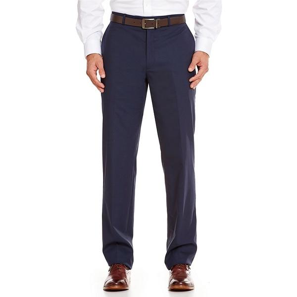ハートシャファネールマークス メンズ 全品最安値に挑戦 ボトムス おすすめ特集 カジュアルパンツ Navy 全商品無料サイズ交換 New Fit York Tailored Dress Pants Flat-Front Modern