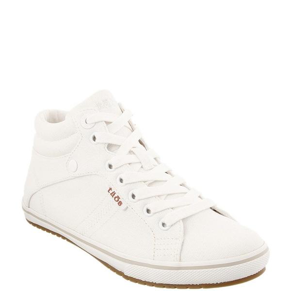 タオスフットウェア レディース スニーカー シューズ Top Star High Top Canvas Sneakers White Canvas