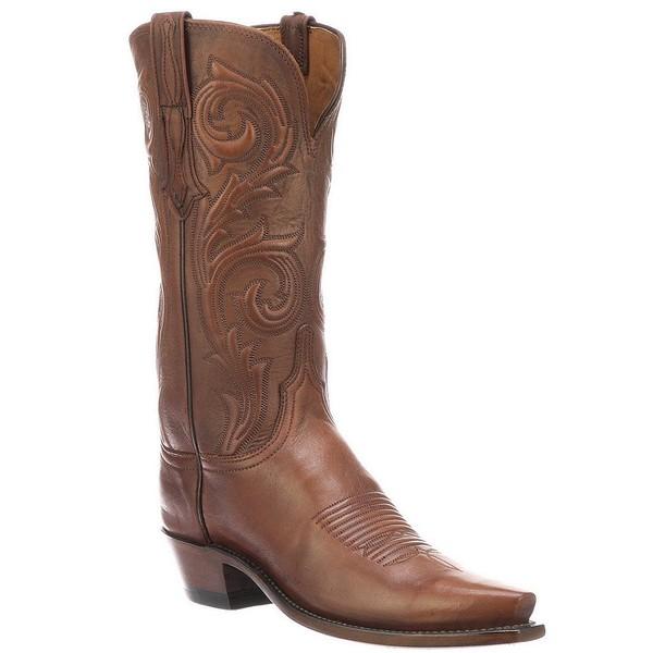 ルチーズ レディース ブーツ&レインブーツ シューズ Nicole Leather Embossed Western Boots Antique Rust
