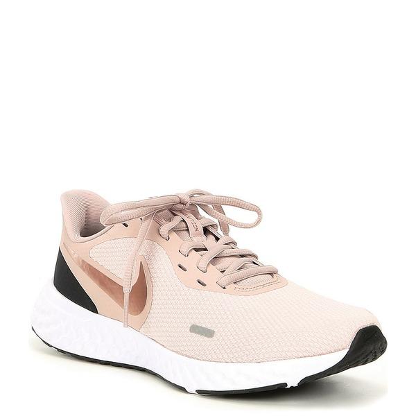 ナイキ レディース スニーカー シューズ Women's Revolution 5 Running Shoes Barely Rose/Stone Mauve/Metallic Red Bronze