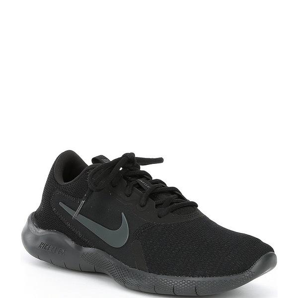 ナイキ メンズ スニーカー シューズ Men's Flex Experience Run Running Shoe Black/Dark Smoke Grey