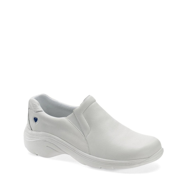 ナースメイト レディース スニーカー シューズ Dove Slip Ons White