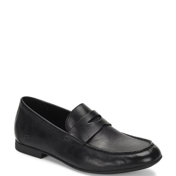 ボーン メンズ ドレスシューズ シューズ Men's Roland Leather Loafer Black